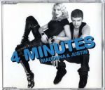 4 MINUTES - EU 3 TRACK CD SINGLE